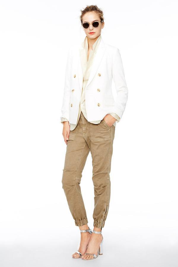 2015-Work-Appropriate-Jackets-For-Women-5-600x899 Outfits with White Blazer-24 Ideas to Wear White Blazer this Year