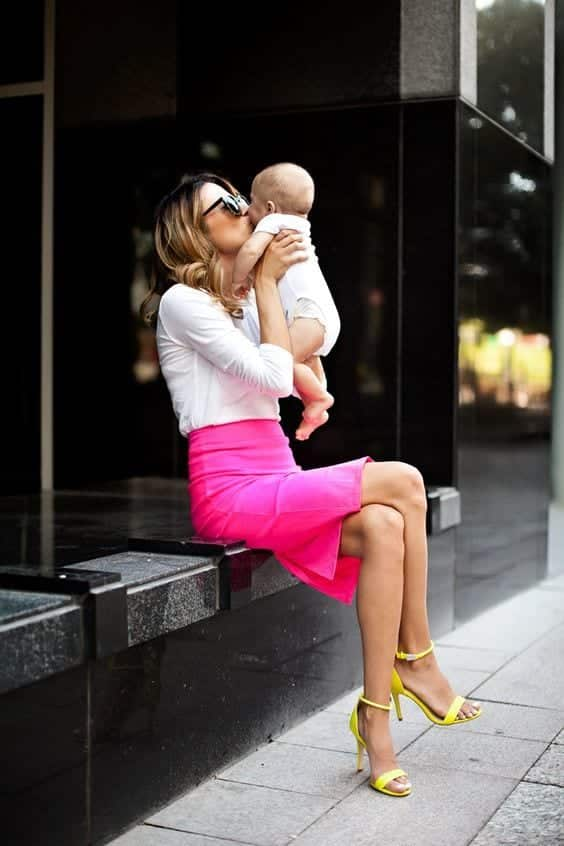 95e0156f527afb38da481e2a8a474558 Outfits For Mums-28 Fashionable Clothes for Mothers This Year