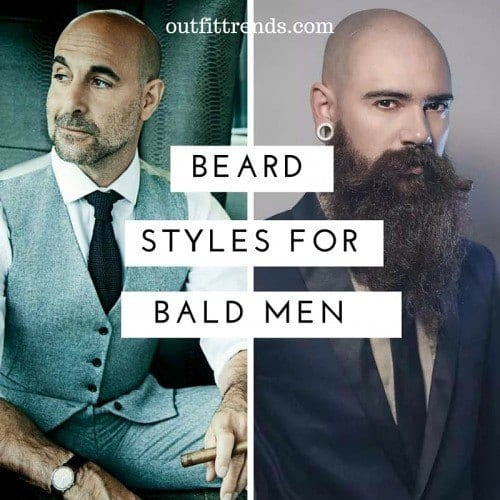 Latest Beard Styles For Black Men Hottest Facial Hairs - Facial hair styles bald guys