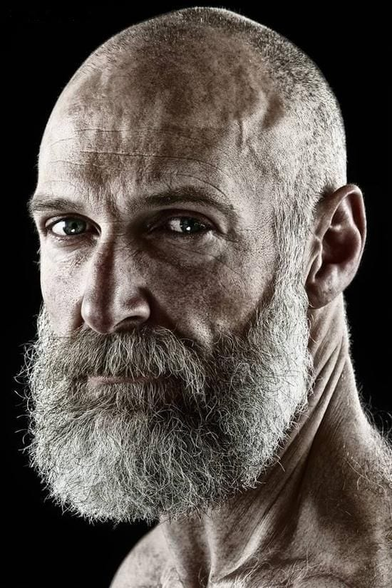 Bald-Men3 Beard Styles for Bald Guys-30 New Facial Hairstyles for Bald Heads