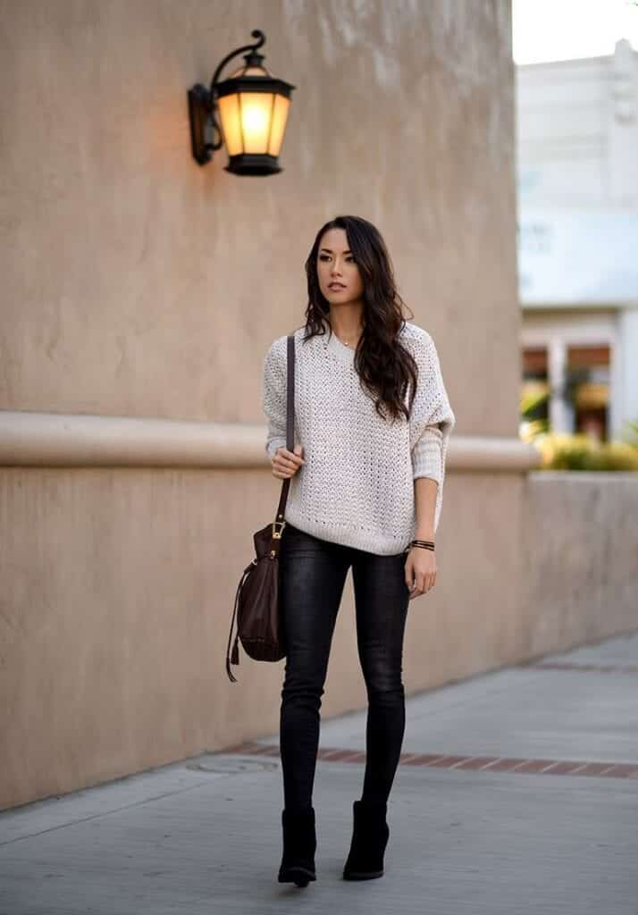 DSC_1149-769-714x1024 Outfits with Black Jeans-23 Ways to Style Black Denim Pants