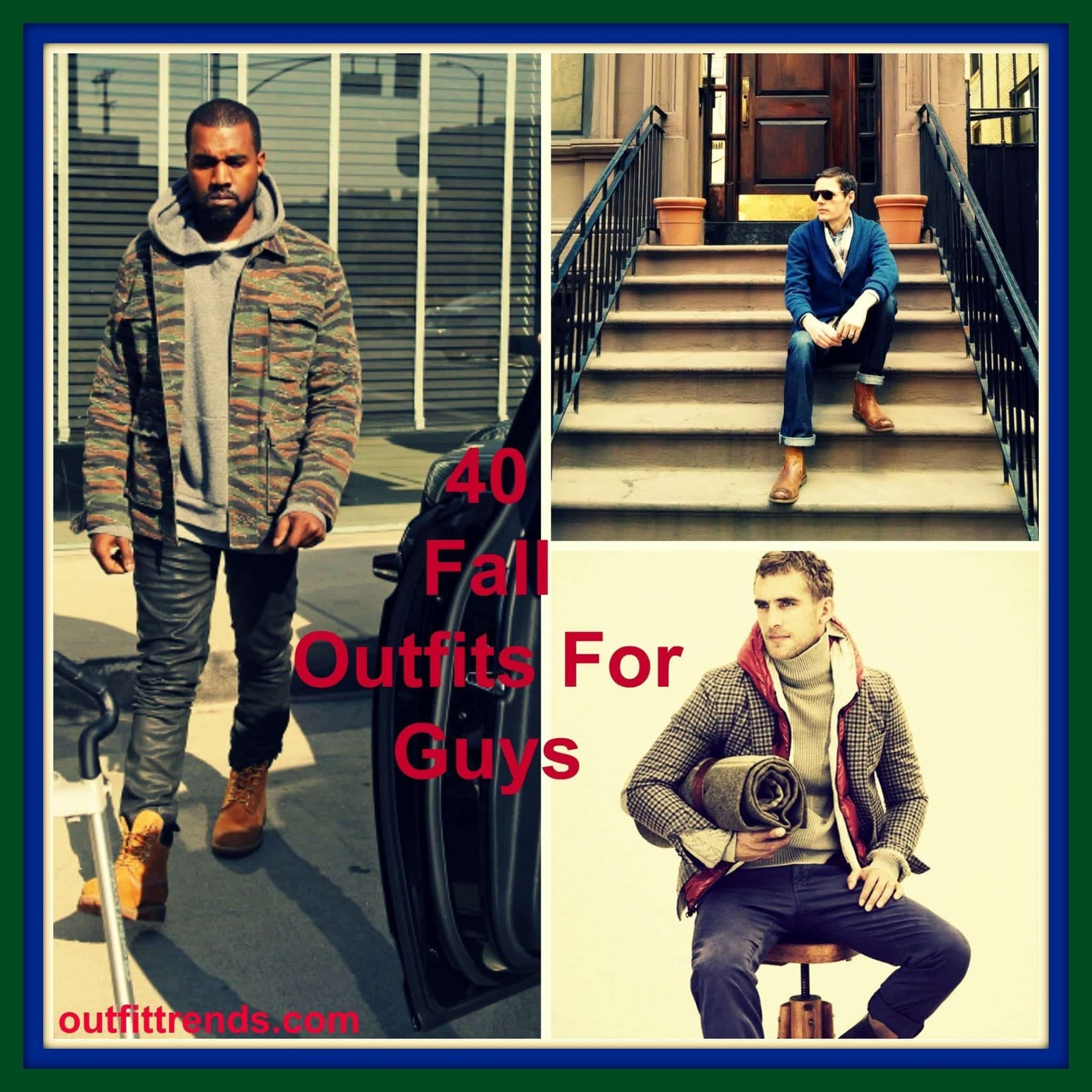 fall outfits for guys
