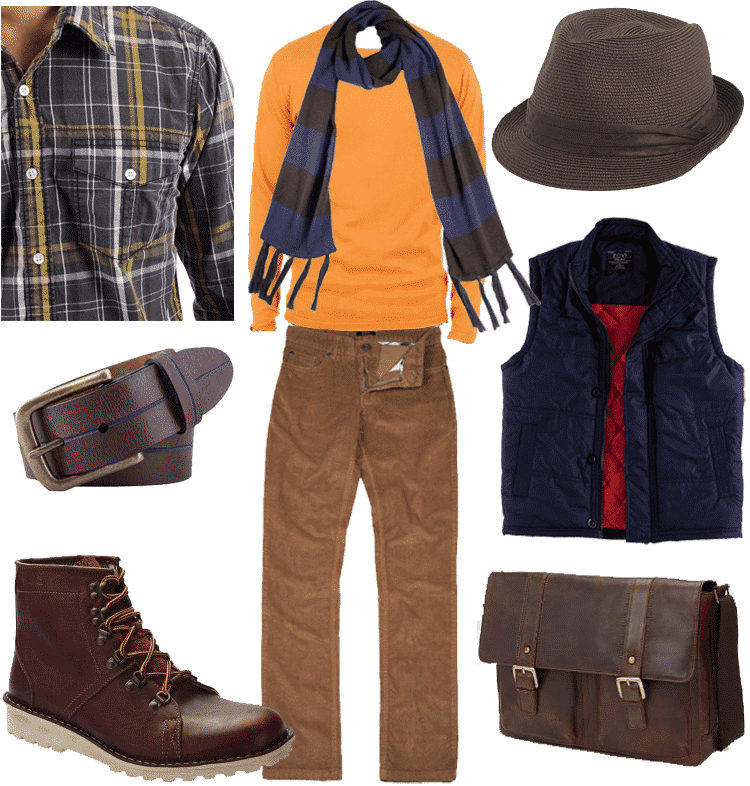 brwon-1 Brown Boots Outfit for Men-30 Ways to wear Brown Boots