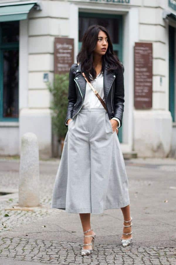 culottes-11 Culottes Outfits Ideas-24 Ideas How to Wear Culottes This Year