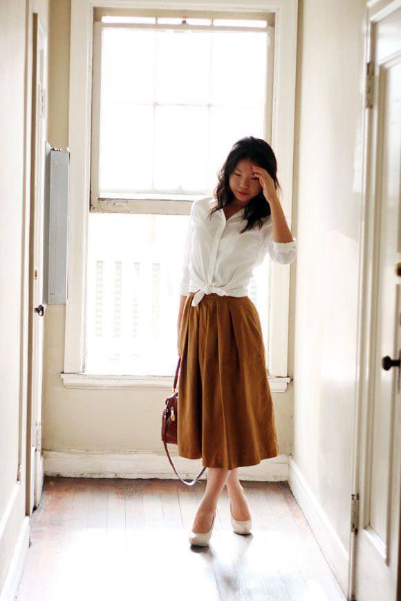 culottes-13 Culottes Outfits Ideas-24 Ideas How to Wear Culottes This Year