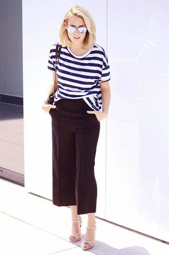 culottes-15 Culottes Outfits Ideas-24 Ideas How to Wear Culottes This Year