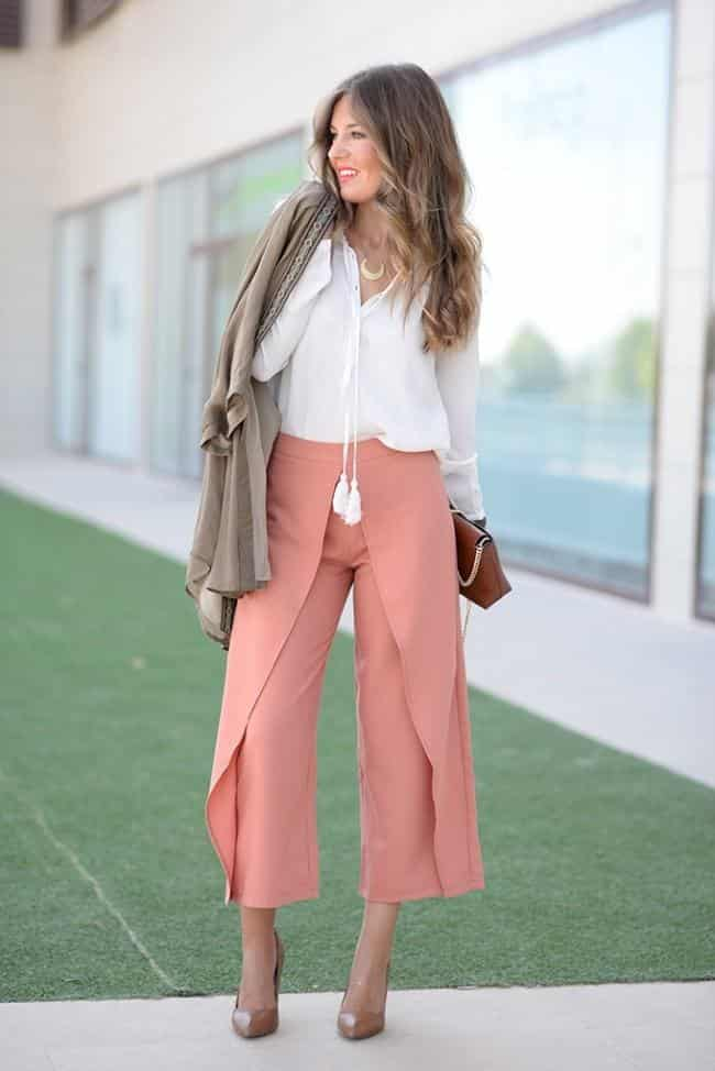 culottes-19 Culottes Outfits Ideas-24 Ideas How to Wear Culottes This Year