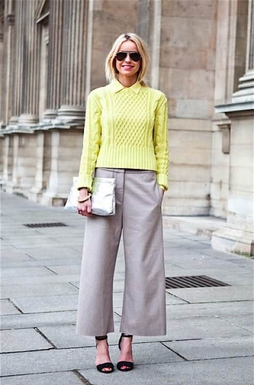 culottes-21 Culottes Outfits Ideas-24 Ideas How to Wear Culottes This Year