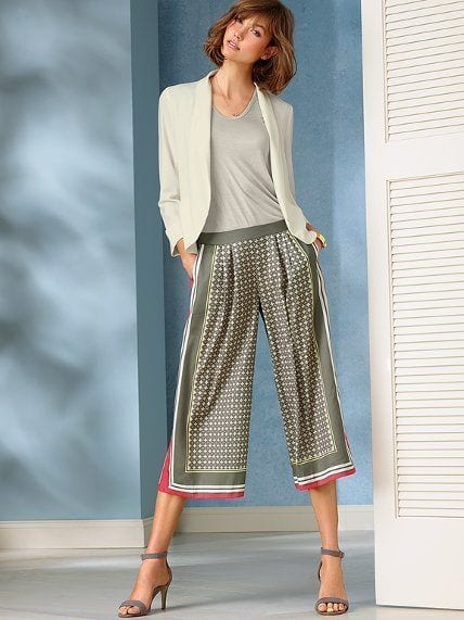 culottes-23 Culottes Outfits Ideas-24 Ideas How to Wear Culottes This Year