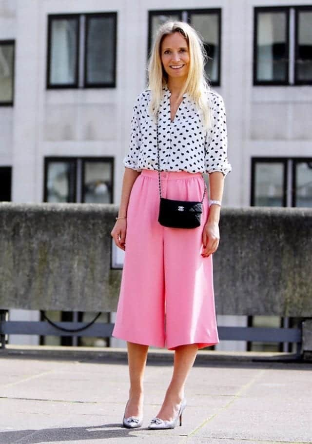 culottes-24 Culottes Outfits Ideas-24 Ideas How to Wear Culottes This Year