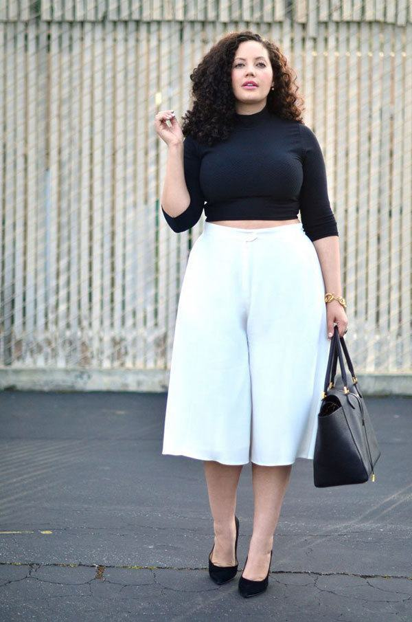 Culottes Outfits Ideas-24 Ideas How to Wear Culottes This Year