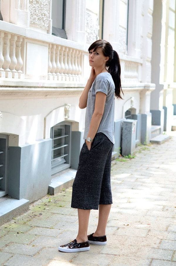culottes-8 Culottes Outfits Ideas-24 Ideas How to Wear Culottes This Year