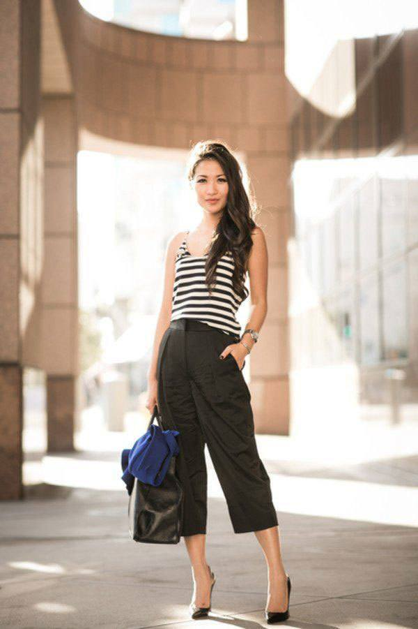 culottes-9 Culottes Outfits Ideas-24 Ideas How to Wear Culottes This Year
