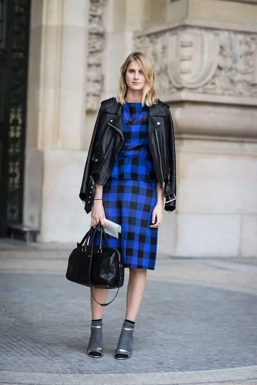 fingham-12 Gingham Outfit Ideas-18 Ways to Wear Gingham Dresses Perfectly