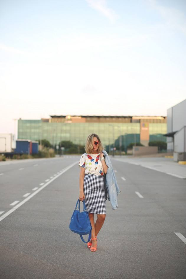 fingham-3 Gingham Outfit Ideas-18 Ways to Wear Gingham Dresses Perfectly