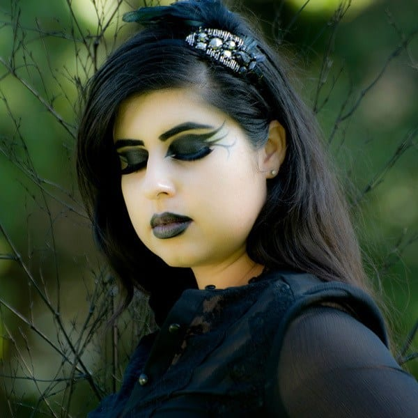 gothic-10 Gothic Hairstyles-20 Best Hairstyles for Gothic Look for Girls