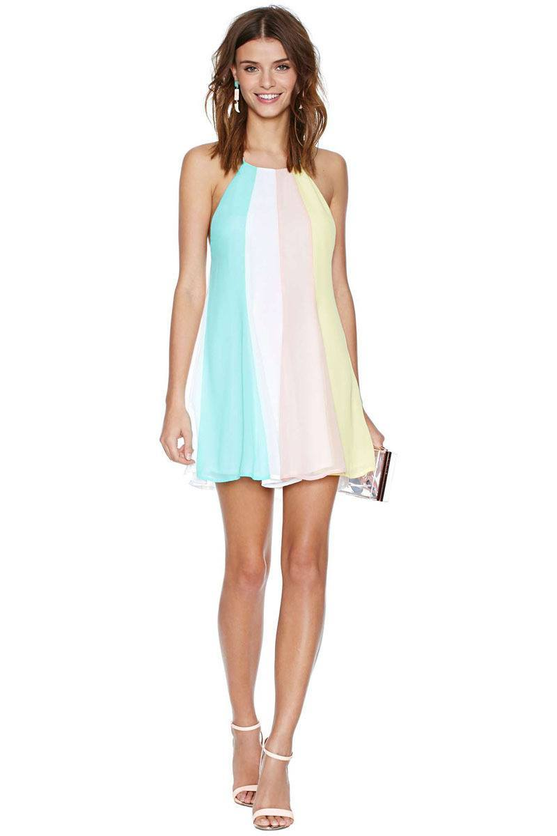 cute halter dresses   18 ways to wear halter outfits everyday