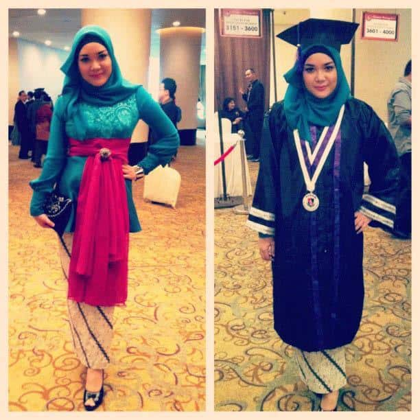 hg17 Hijab Graduation Outfit-18 Ways to Wear Hijab on Graduation Day