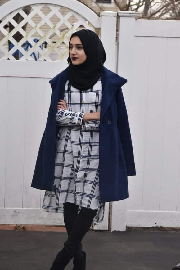 hg18 Hijab Graduation Outfit-18 Ways to Wear Hijab on Graduation Day