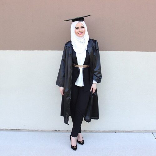 hg2-500x500 Hijab Graduation Outfit-18 Ways to Wear Hijab on Graduation Day