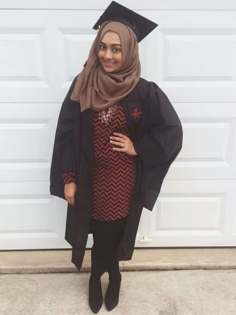 hg8-768x1024 Hijab Graduation Outfit-18 Ways to Wear Hijab on Graduation Day