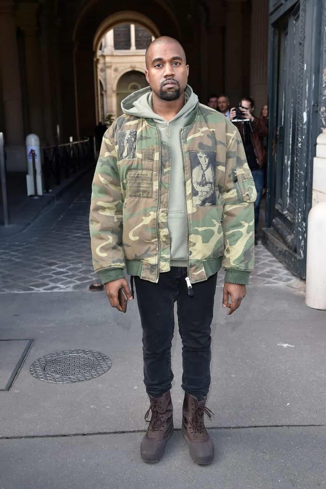 kanye-west-bomber-jacket Jacket Outfits for Guys - 24 Ways to Style Jackets Sharply