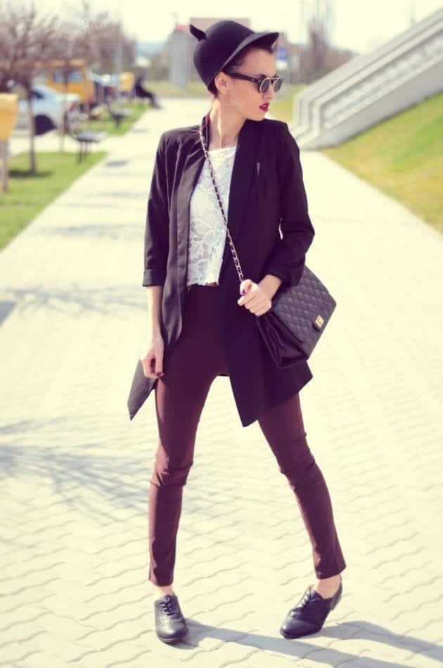 Black Oxford Shirt Women