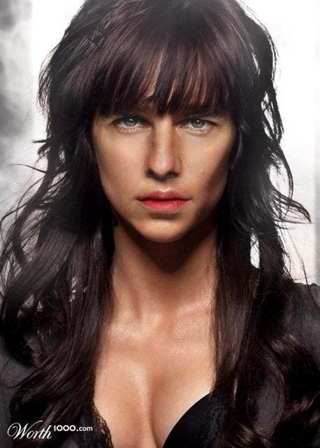 Q3 How Top Male Celebrities Would Look if They were Women-Check These 25 Men