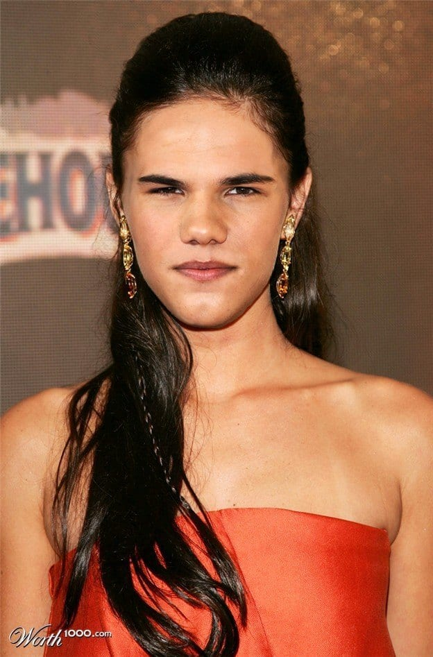 Q5 How Top Male Celebrities Would Look if They were Women-Check These 25 Men