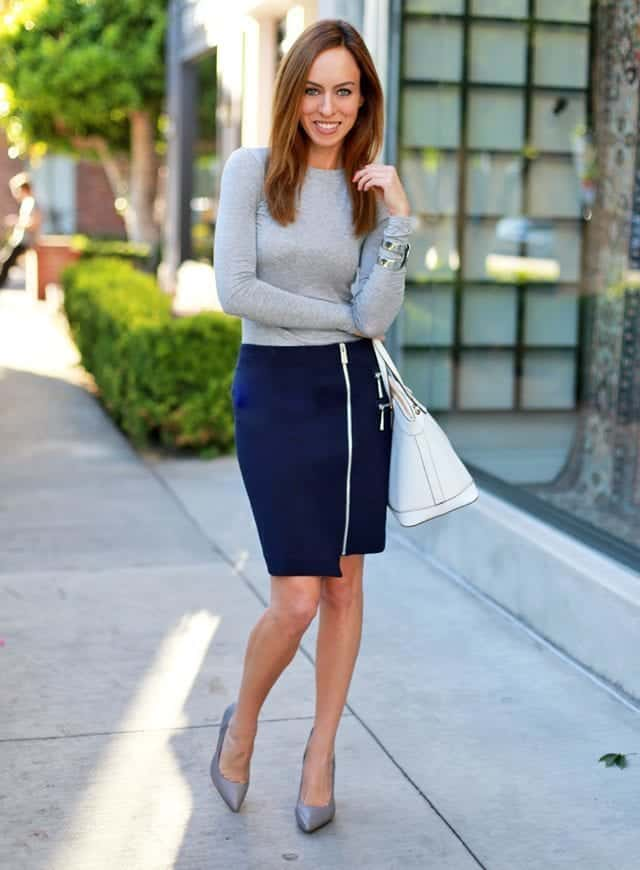asymmetrical-skirt-outfits-12 Asymmetrical Skirt Outfits-24 Ideas to Wear Asymmetrical Skirts