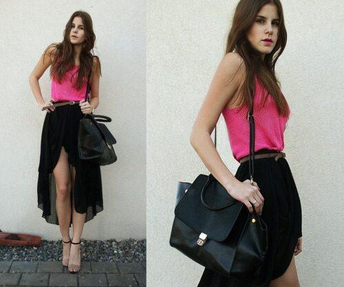 asymmetrical-skirt-outfits-14-500x417 Asymmetrical Skirt Outfits-24 Ideas to Wear Asymmetrical Skirts