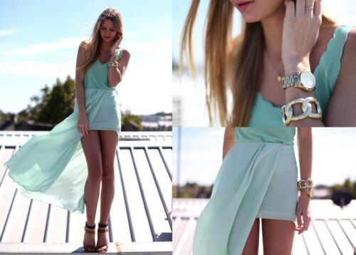 asymmetrical-skirt-outfits-16-500x358 Asymmetrical Skirt Outfits-24 Ideas to Wear Asymmetrical Skirts