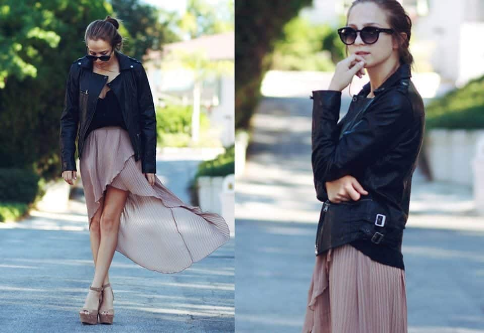 asymmetrical-skirt-outfits-18 Asymmetrical Skirt Outfits-24 Ideas to Wear Asymmetrical Skirts