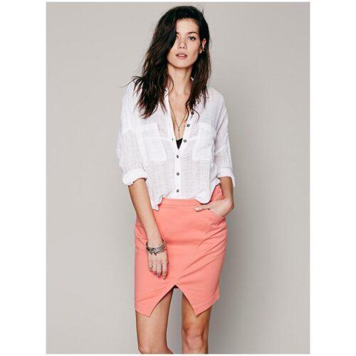 asymmetrical-skirt-outfits-4-500x500 Asymmetrical Skirt Outfits-24 Ideas to Wear Asymmetrical Skirts
