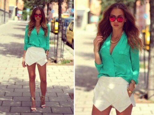 asymmetrical-skirt-outfits-7-500x373 Asymmetrical Skirt Outfits-24 Ideas to Wear Asymmetrical Skirts