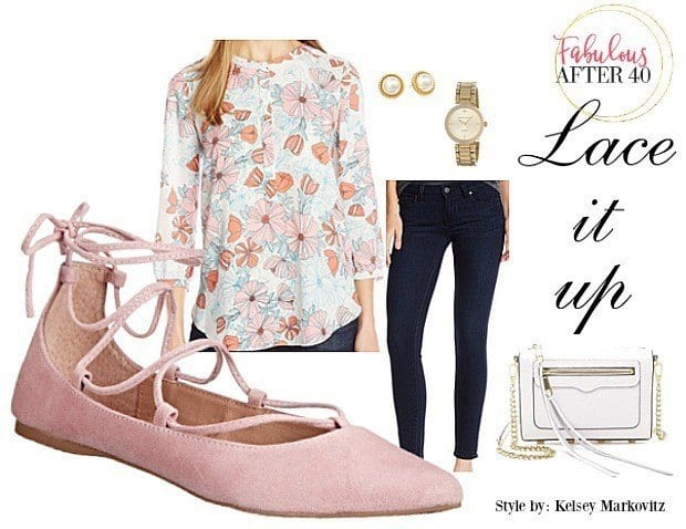 baleet-lace-up-24 29 Cute Outfits with Lace Up Ballet Flats - How to wear