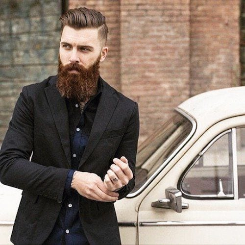 beardsaresexy_levistocke_long-beard-and-medium-hair Hairstyles with Beards - 20 Best Haircuts that Go with Beard