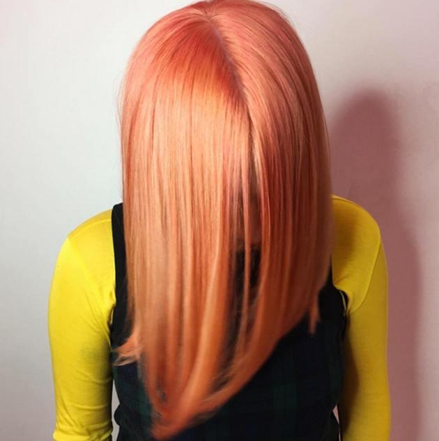 blorange-hair-color-1 2018 Cute Hairstyles for Teenage Girls ! 70 Top Hair Styles