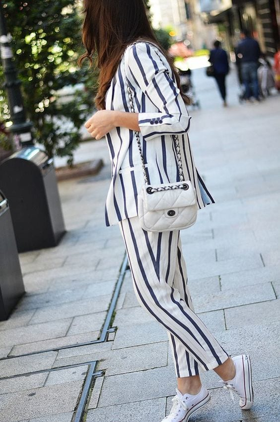 c6ad226613adb8080f9a4f638d4aeb42 Womens' Suits With Sneakers - 27 Ways To Style Suits With Sneakers