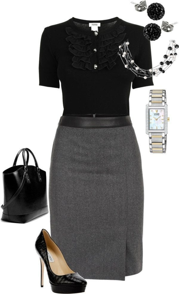 Women Dressing Styles for Funerals (17)