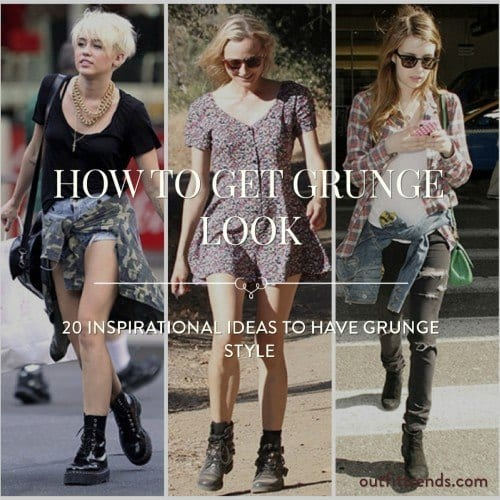 20 Ideas to get grunge look (15)