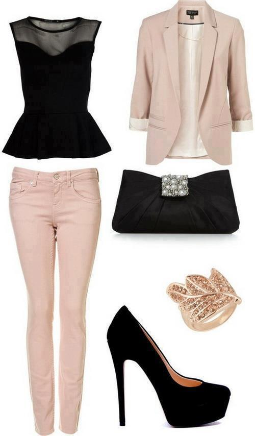 pink-blazer-5 Outfits with Pale Pink Blazers-19 Ways to Wear pink Blazers