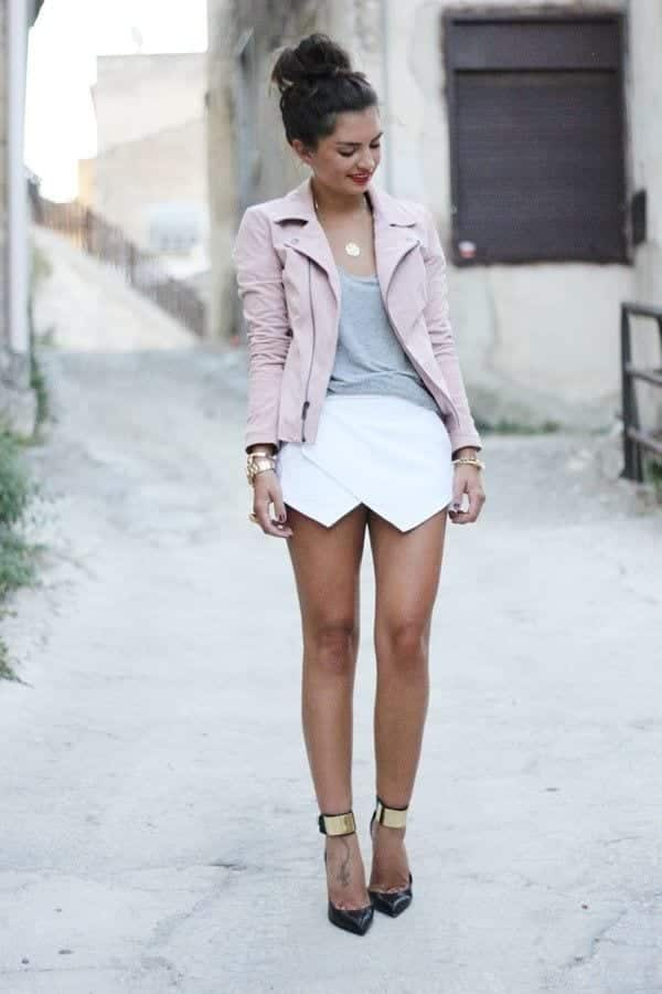 pink-blazer-7 Outfits with Pale Pink Blazers-19 Ways to Wear pink Blazers