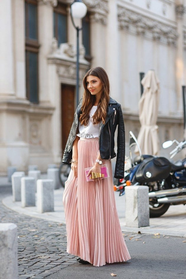 Pleated Skirt Outfits - 23 Ideas How to Wear Pleated Skirts