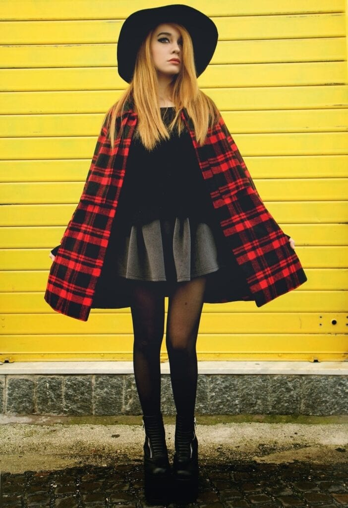 Grunge Style Clothes-20 Outfit Ideas for Perfect Grunge Look