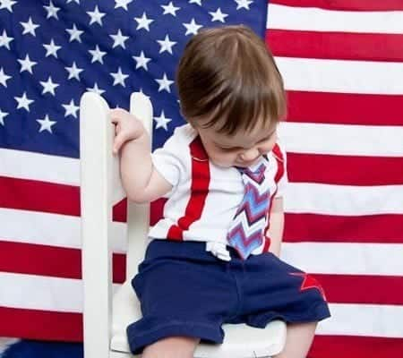121 4th of July Outfits for Kids-20 Cute Ways to Dress Up Kids on 4th July