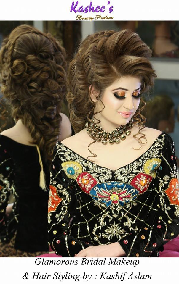 Pakistani Bridal Hairstyles For A Perfect Look (11)