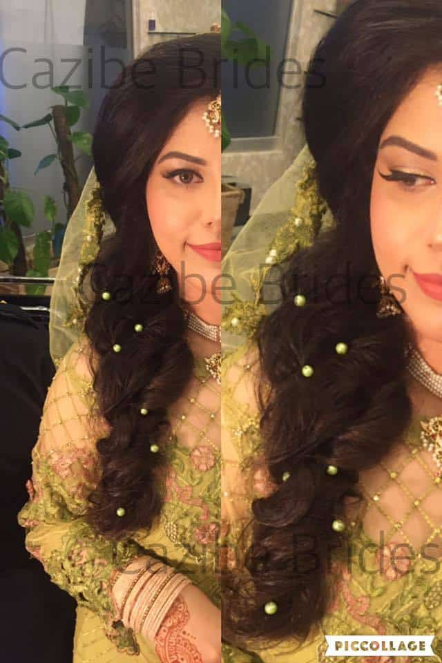 13001110_10156697790770526_5358724597470721260_n 20 Pakistani Wedding Hairstyles for a Perfect Looking Bride