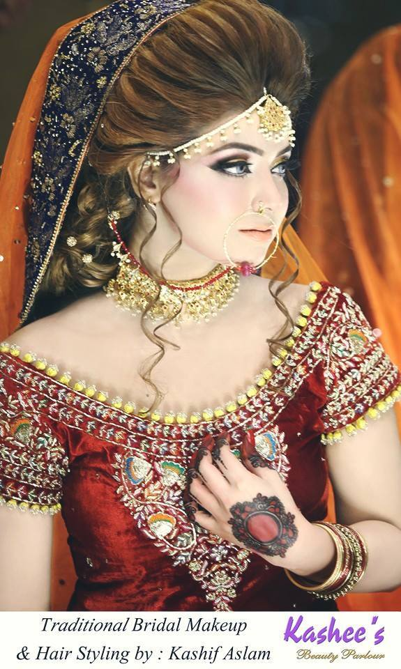 13087343_1271635302864686_8649510483163822721_n 20 Pakistani Wedding Hairstyles for a Perfect Looking Bride