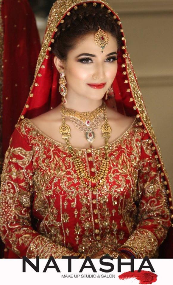 Pakistani Bridal Hairstyles For A Perfect Look (1)